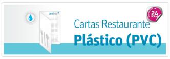 impresion de Cartas de PVC irrompible sumergibles en agua