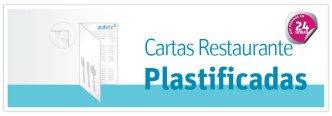 Impresion Menus Restaurante plastificados baratos