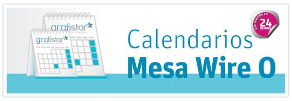 calendarios sobremesa wire-o personalizados