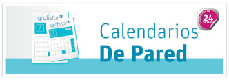 Impresión de calendarios de pared personalizados