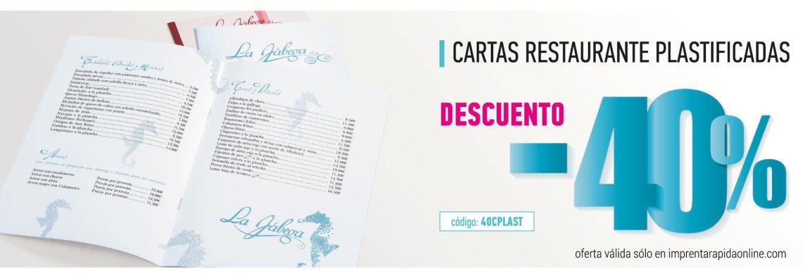 cartas restaurante con alergenos en imprenta online